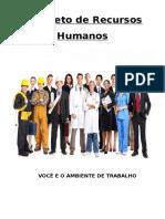 PROJETO TREINAMENTO - VOCÊ E O AMBIENTE DE TRABALHO.doc