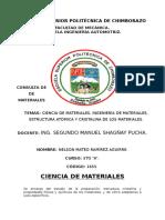 Ciencia de los Materiles