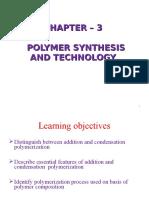 Chapter Three Polymer