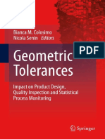 Antonio Armillotta, Quirico Semeraro (Auth.), Bianca M. Colosimo, Nicola Senin (Eds.)-Geometric Tolerances_ Impact on Product Design, Quality Inspection and Statistical Process Monitoring-Springer-Ver