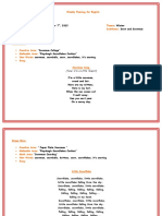 15 Weekly Planning for English_December 7th ,2015