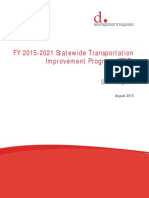 District of Columbia's FY 2015-2021 Statewide Transportation Improvement Program (STIP)