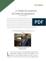 Bélgica_ Estado de Excepción Sin Estado de Emergencia, Por Jean-Claude Paye