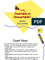 Count or Non-Count