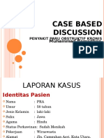 Case Based Discussion Ppok