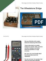 Wheatstone Talk 1