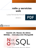 Sesion24.Bases de Datos NOSQL