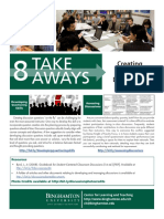 8 Takeaways Creating Engaging Discussions