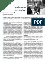 Cambio, desarrollo y uso de nuevas tecnologías, entrevista a Iván Giroud.