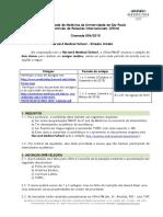 Crint 123 Chamada 006-2015 Harvard Medical School