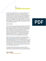 Intro to HDML