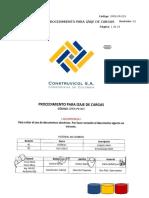 OPER PR 053 Procedimiento Para Izaje de Cargas Rev2