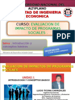 Evaluacion de Impacto de Programas Sociales 1