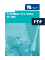 Standards for infusion