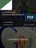 La Strategie de Diversification de Google