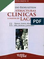 Las estructuras clínicas II [Alfredo Eidelsztein]