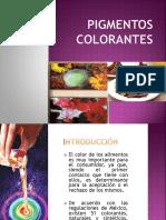 """Tema Colorantes y Pigmentos """"UNAJ """""""