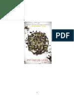 Pittacus Lore - Mostenirile Lorienului - 4 - Greseala Lui Cinci - V.1 Tradus Complet