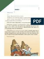 Ficha de Trabalho - O Príncipe Nabo