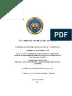T-UCE-0011-76 GPR Y DEFLECTOM Ver Pag 121 en Adelante Ojo Calculo EP en Detalle y Debilidades Met AASHTO93