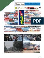 Revue de Presse 22-25 Juin 2010