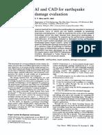 AI and CAD for Earthquake Damage Evaluation 1993