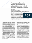 Parametric Studies on the Response of Equipment in Resilient Friction Base Isolated Structures Subjected to Ground Mo