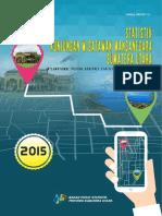 Statistik Kunjungan Wisatawan Mancanegara Sumatera Utara 2015