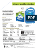PEAK Conventional Green Spec Sheet
