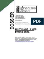 Breve historia de la Web Periodística