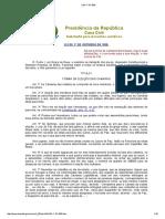 Regimento Das Câmaras Municipais - Lei 01-10-1828
