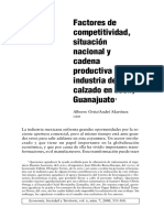 Política Industrial e Industria Del Calzado en México
