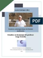RODRÍGUEZ Gerardo (Dir) - Lecturas Contemporáneas de Textos Medievales
