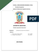 Lab de Operaciones Unitarias II
