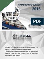 Catalogo de Cursos Sigma Imecsa 2016 (3)