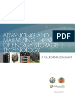Advancing MaximizingValueofEnergyStorageTechnology CaliforniaRoadmap