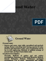 Groundwater Ppt