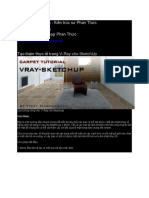 Tips_HowToMakeCarpet in Vray for Sketchup