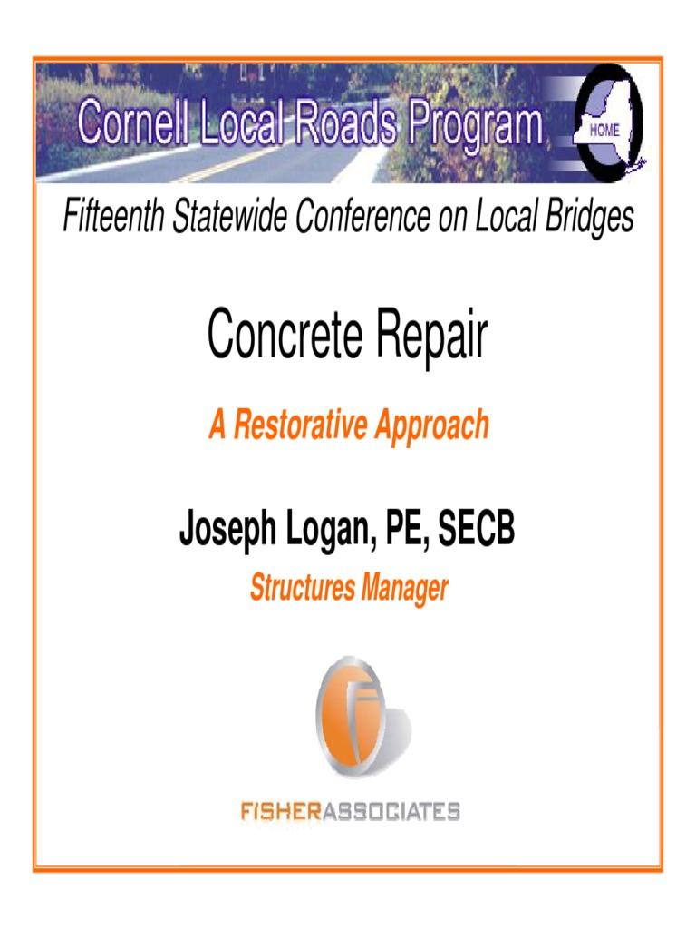 Cracking Concrete Corrosion