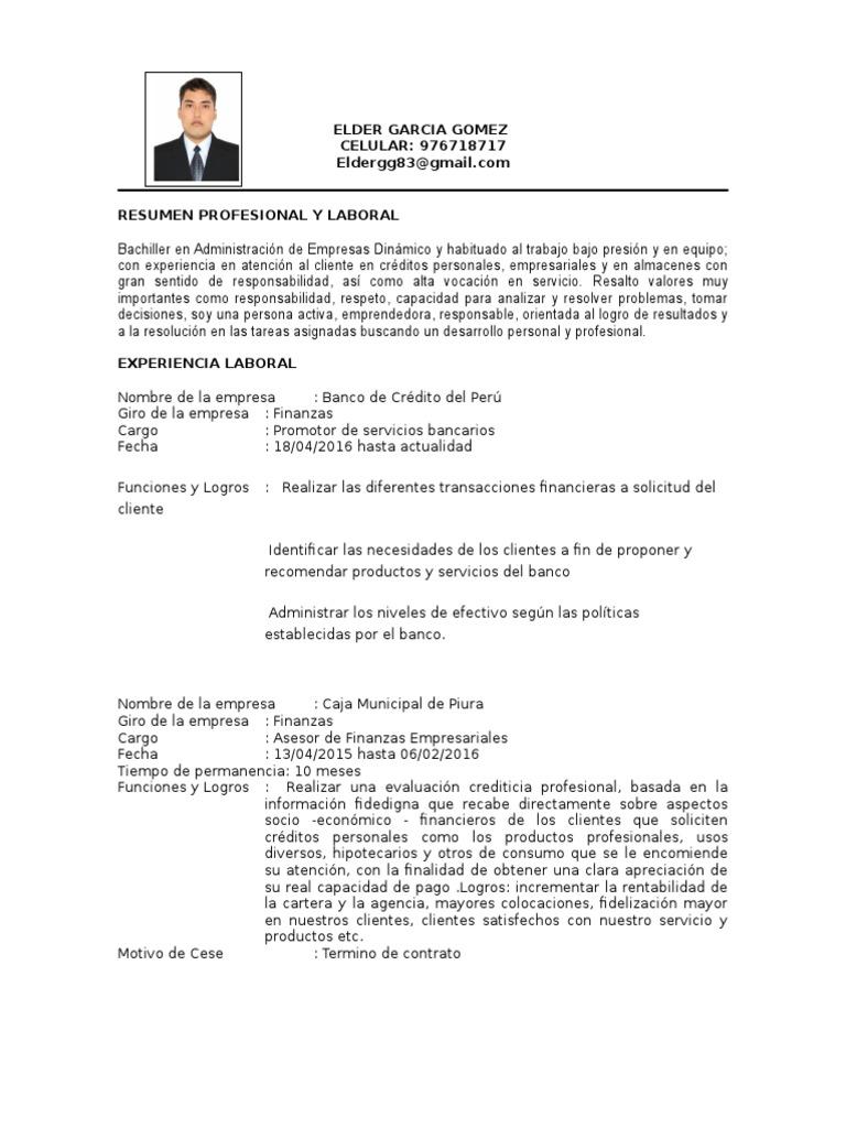 Bonito Ejecutivo De Ventas Hoja De Vida Muestra Pdf Modelo - Ejemplo ...