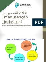 Gestão Da Manutenção Industrial