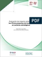 Evaluación de Impacto Ambiental Los ITS de Proyectos de Inversión en Sectores Estratégicos