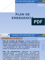 03 Leccion 1 - Plan de Emergencia
