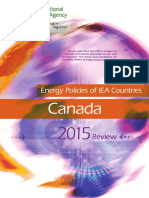 Energy Policies of i e a Countries Canada 2015 Review