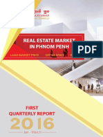 Cambodia Real Estate Analysis 1st Q 2016