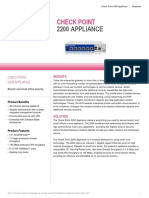2200 Appliance Datasheet