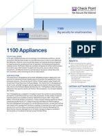 1100 Appliance Datasheet