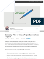 Project Business Case Proposal (Linkedin)