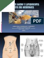 Abdomen Agudo Quirurgico y Laparoscopia