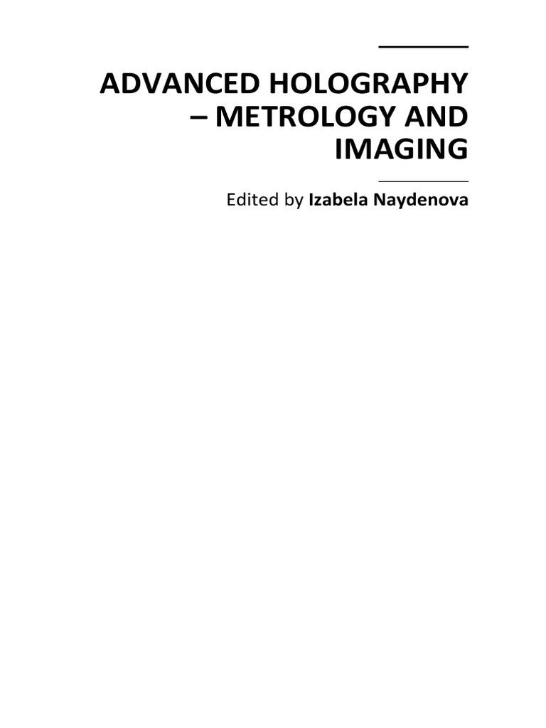 Advanced Holography Metrology And Imaging Xj6 Ewp Fans Wiring Diagram Interferometry